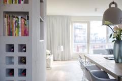 Vloerenkwartier planken appartement Amsterdam 1