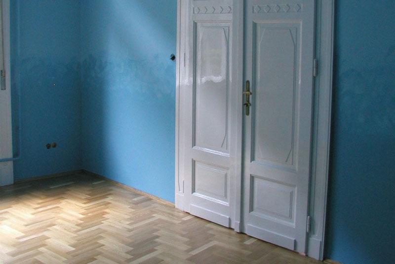 Vloerenkwartier patroon elleboog